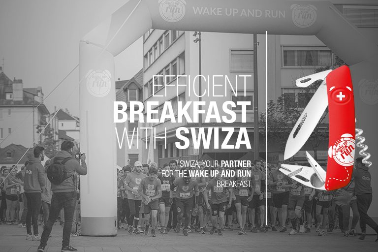 Swiza Your Partner For The Wake Up And Run Breakfast